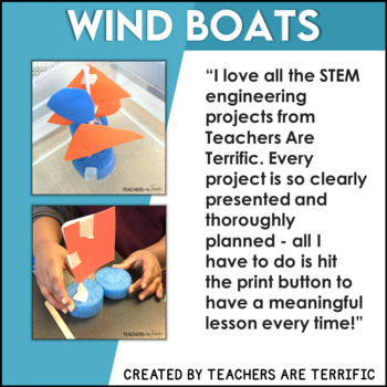 STEM Challenge Build a Wind-Powered Boat