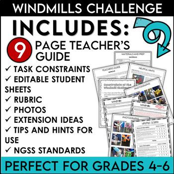 STEM Activity Challenge Build a Windmill