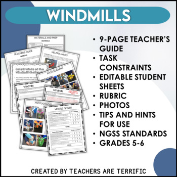 STEM Challenge Build a Windmill