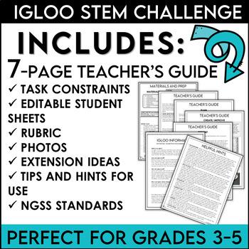 STEM Activity Challenge Build an Igloo