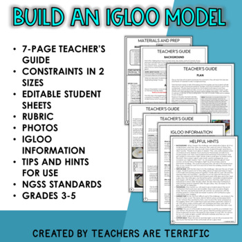 Winter STEM Challenge Igloo Design