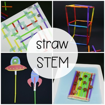 STEM Challenge: Build with Straws