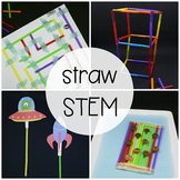 STEM Challenge: Build with Straws (Distance Learning)