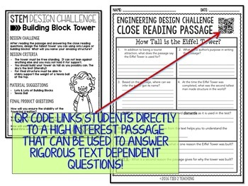 STEM Challenge - Building Block Tower Challenge