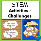 STEM and STEAM Activities Building Block Challenges