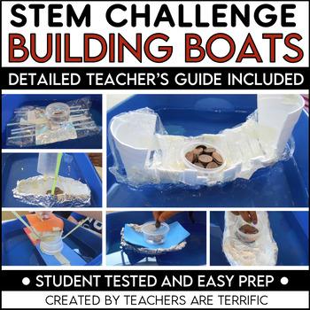 STEM Challenge Boat Building by Teachers Are Terrific | TpT