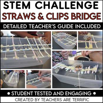 STEM Activity Challenge: Bridges with Straws and Toothpicks