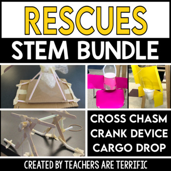 STEM Activities Challenge Bundle All About Rescues