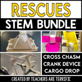 STEM Challenge Bundle All About Rescues