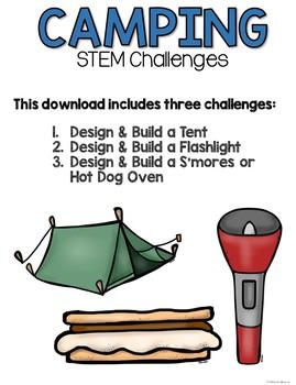 STEM Challenge Bundle (Camping)