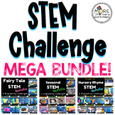 STEM Challenge Bundle (Fairy Tale, Nursery Rhymes, Seasonal STEM)