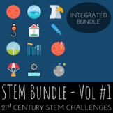 STEM Challenge Bundle Vol.1 - Includes 12 Integrated STEM Activities
