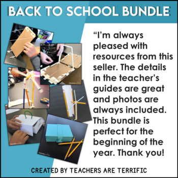 STEM Back to School Challenge Bundle - The Pencil Series