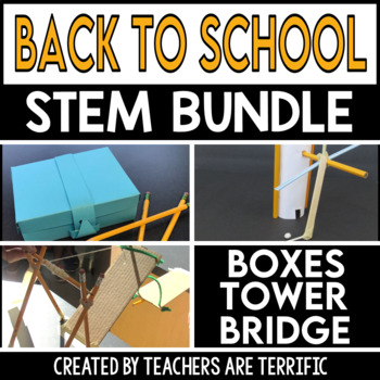 STEM Back to School Challenge Bundle - The Pencil Series