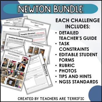 Halloween STEM Challenge Bundle Pumpkin Series