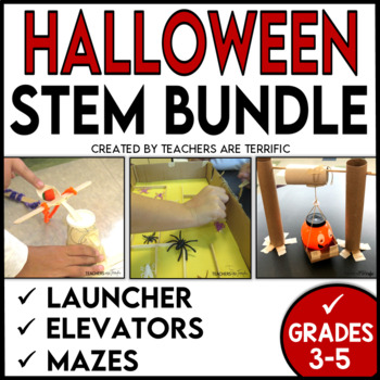 Halloween STEM Challenges Bundle