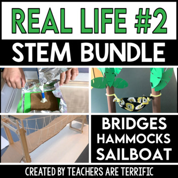 STEM Challenge Bundle Real Life 2
