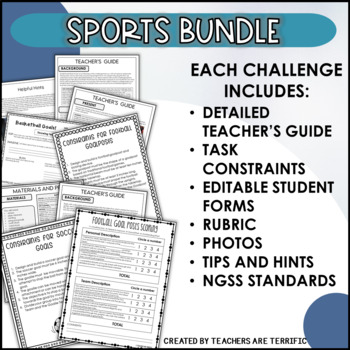 STEM Activities Challenge Bundle Sports Series