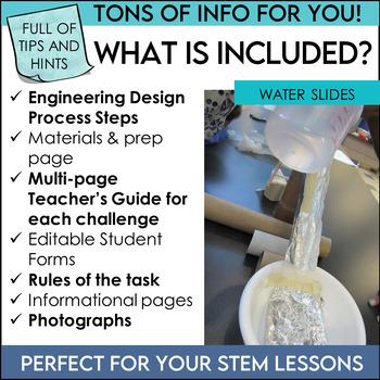 STEM Activities Challenge Bundle Summer Fun Series