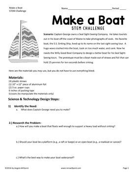 STEM Challenge Bundle Volume 1 - SMART Notebook - Grades 5-8