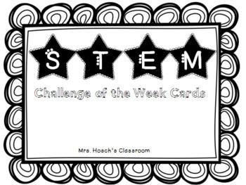 STEM Challenge Cards & Labels