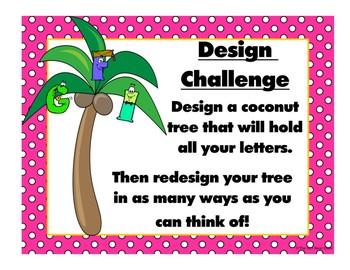 STEM Challenge- Chicka Chicka Boom Boom