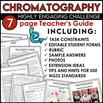 STEM Activity Challenge featuring Chromatography