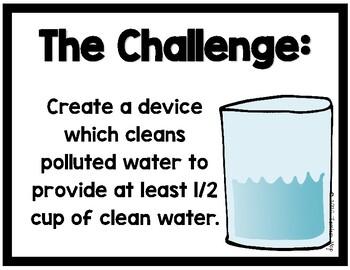STEM Challenge:  Clean the Water (Printables)