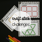 STEM Challenge: Craft Stick Puzzles (Distance Learning)