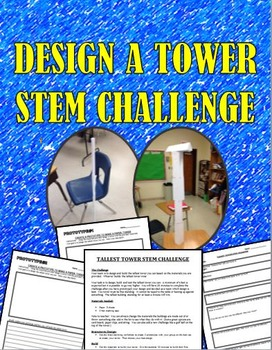STEM Challenge:  Design a Tower: Great for IB Design