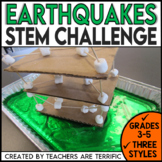 Earth Day STEM Challenge Earthquake Resistant Building