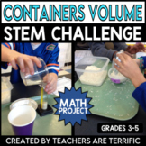 STEM Challenge Exploring Volume with Containers