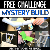 STEM Challenge FREEBIE- Mystery Build