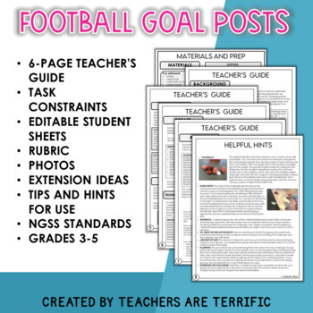 STEM Football Goalposts Challenge