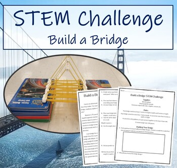 STEM Challenge - Build a Bridge (Fun Experiment)