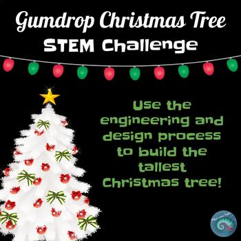 stem challenge gumdrop christmas tree