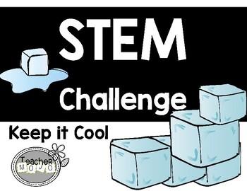 STEM Challenge Keep it Cool (Printables)