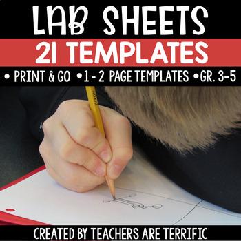 STEM Challenge Lab Sheets