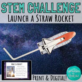 STEM Challenge: Launch a Straw Rocket