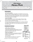 STEM Challenge: Maraca Music (Physical Science Concept: Vibrations and Sound)