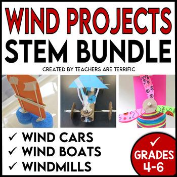 STEM Activities Challenge March Bundle with Wind Power