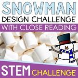 STEM Challenge - Marshmallow Snowman Challenge