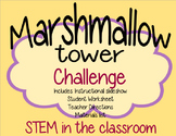 STEM Challenge- Marshmallow Tower