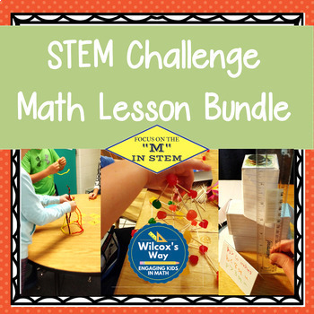 STEM Challenge Math Lesson Activities Bundle
