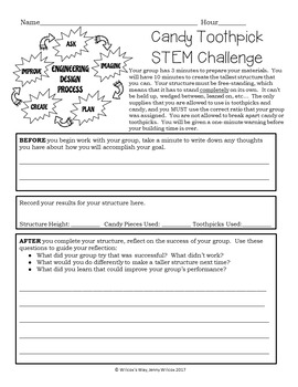 STEM Challenge Math Activity: Ratio and Statistics