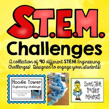 STEM Challenge Pack Collection on  CDs ~ Ninety (90) Total Challenges