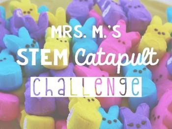 STEM Challenge Peep Catapult