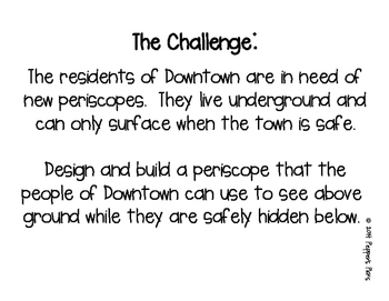 STEM Challenge: Periscope Up (Printables & DIY)