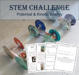 STEM Challenge - Potential & Kinetic Energy Car (Fun Experiment)