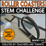 STEM Activity Challenge Roller Coasters!